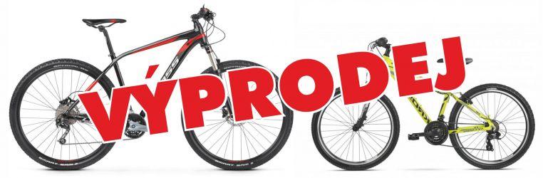 Výprodej jízdních kol a elektrokol.