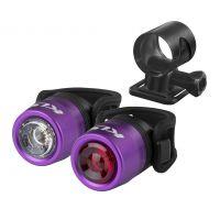 Set osvětlení dobíjecí KELLYS KLS IO USB