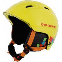 Lyžařská helma BLIZZARD Demon junior, žlutá
