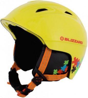Lyžařská helma BLIZZARD Demon junior, žlutá 18/19