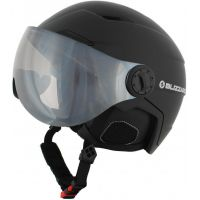 Lyžařská helma BLIZZARD Double Visor, black matt, silver mirror