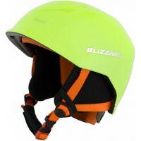 Lyžařská helma BLIZZARD Signal junior, zářivě žlutá