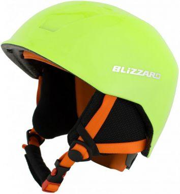 Lyžařská helma BLIZZARD Signal junior, zářivě žlutá 18/19