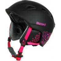 Lyžařská helma BLIZZARD Viva Demon, černá/purpurová 18/19