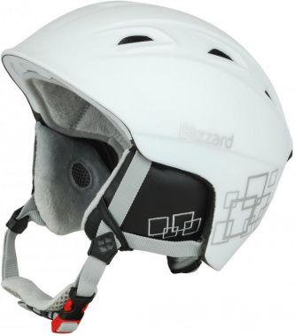 Lyžařská helma BLIZZARD Viva Demon, bílá/stříbrna 18/19