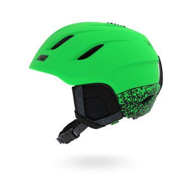 Lyžařská helma GIRO Nine Mat Bright Green 18/19
