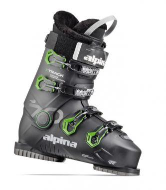 Lyžařská obuv ALPINA XTRACK 70 18  black/green  2020/2021