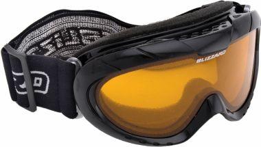 Lyžařské brýle BLIZZARD 902 AO, black shiuny, amber1