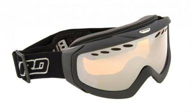 Lyžařské brýle BLIZZARD Ski Gog. 906 MDAVZ, černá matná, amber2, silver mirror