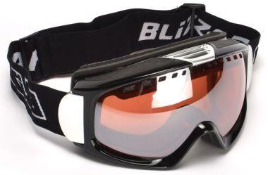 Lyžařské brýle BLIZZARD Ski Gog. 933 MDAVZS, černá matná, amber2, silver mirror