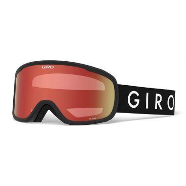 Lyžařské brýle GIRO Roam Black Amber Scarlet/Yellow (2Skla)