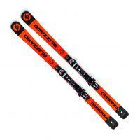 Sjezdové lyže BLIZZARD FIREBIRD Race Ti, orange/black, 18/19 + vázání TPX 12 DEMO