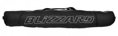 Ski bag Premium pro dva páry lyží, black/silver, 160-190 cm