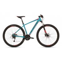 Horské kolo SUPERIOR XC 859 Matte Petrol Blue/Black/Neon Red (29)